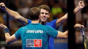Capra y Moyano celebran el pase a la final