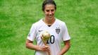 Carli Lloyd, mejor jugadora y máxima goleadora del Mundial
