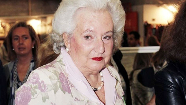 La clase política transmite su pésame por la muerte de la Infanta Pilar