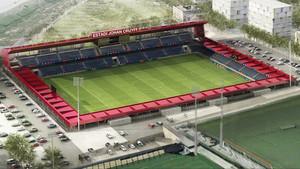 La construcción del futuro Estadio Johan Cruyff se pondrá en marcha la próxima semana