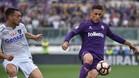 Cristian Tello es un fijo en el carril derecho de la Fiorentina