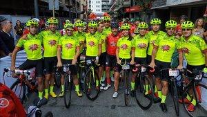 Cuenta atrás para el inicio de La Purito con 2.700 ciclistas