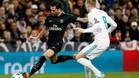 Dani Alves fue pitado por la afición del Real Madrid
