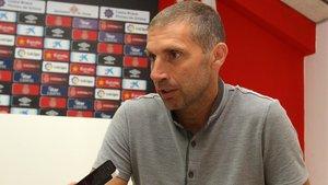 Delfi Geli, entrenador del Girona