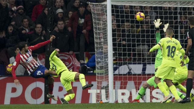 Diego Costa volvió a marcar 18 jornadas después