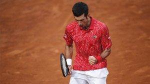 Djokovic asusta antes de París