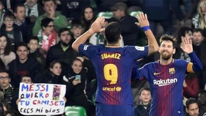 La dupla Messi - Luis Suárez está en racha