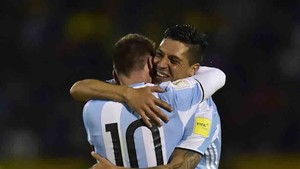 Enzo Pérez jugará con Messi en el Mundial