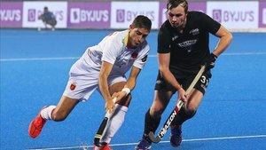España y Nueva Zelanda brindaron un bonito espectáculo en India
