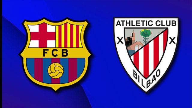 Esta es la alineación del FC Barcelona ante el Athletic