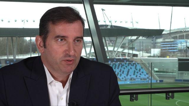 Ferran Soriano, CEO del Manchester City, habla tras la sanción de la UEFA