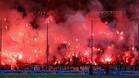 La final de la Copa griega fue escenario de graves incidentes