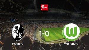 El SC Freiburg suma tres puntos a su casillero tras ganar al VfL Wolfsburg (1-0)