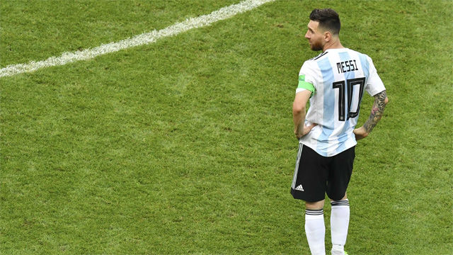 Hace 13 años Messi debutó con Argentina. Duró 40 segundos