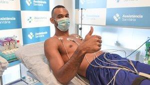 Hanga también regresa con optimismo al equipo azulgrana