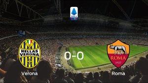 El Hellas Verona y la AS Roma se reparten los puntos tras su empate a cero