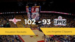 Houston Rockets se lleva la victoria frente a Los Angeles Clippers por 102-93