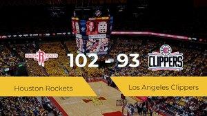 Houston Rockets se lleva la victoria frente a Los Angeles Clippers por 102-93