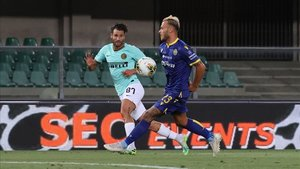 El Inter perdió de puntos en el campo del sorprendente Hellas Verona