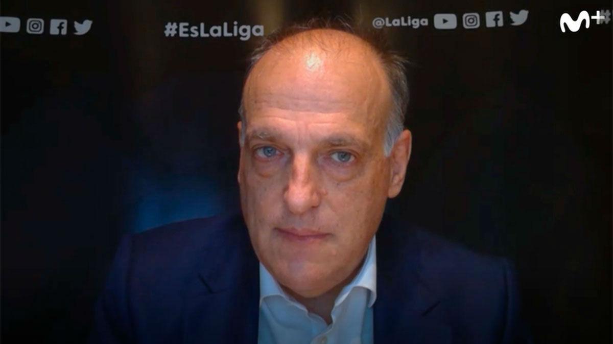 Javier Tebas: No todos los medios de comunicación van a poder entrar a los estadios