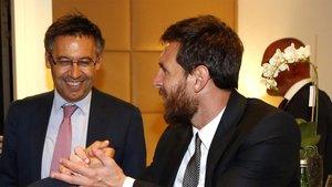 Josep Maria Bartomeu y Leo Messi serán protagonistas en el Balón de Oro 2019
