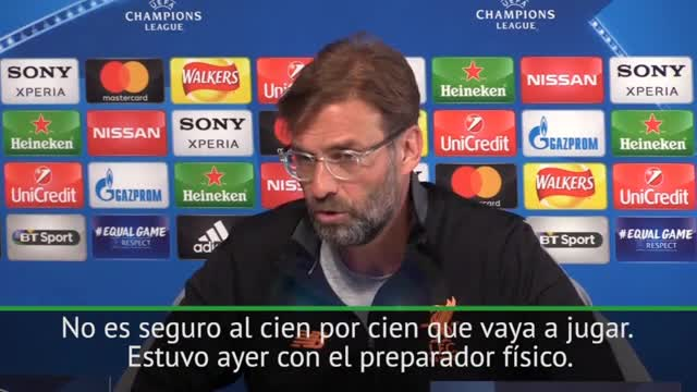Klopp no descarta a Salah