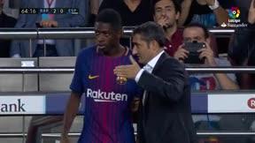 LALIGA   Barça-Espanyol (5-0): Dembélé debutó con el FC Barcelona