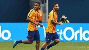 Laporta habló de Neymar y Messi