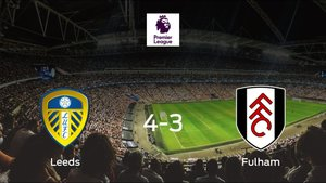 El Leeds United logra la victoria tras ganar 4-3 al Fulham