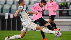 Leo Messi fue el mejor blaugrana en Turín