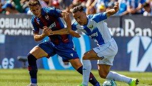El Levante suma dos derrotas, un empate y una victoria en sus últimos enfrentamientos