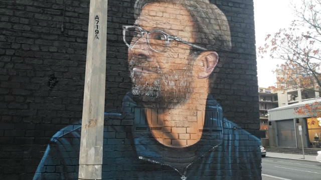 Liverpool dedica un mural a Klopp