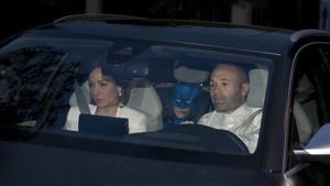 Los jugadores acudieron a la cena en el Hotel Sofia de Barcelona