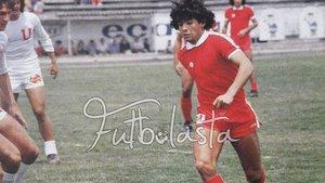Maradona, en su etapa con Argentina Juniors