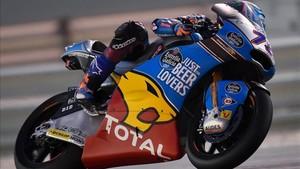 Márquez se hace con la pole en Moto2