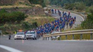 Más de 600 valientes han participado en esta renovada marcha cicloturista