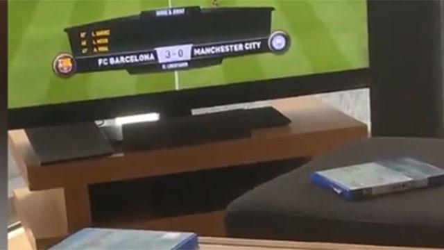 Mbappé se divierte jugando con el Barça