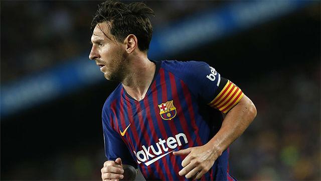 Messi abrió la lata con este toque sutil