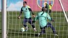 Messi y Pinto han practicado muchas horas