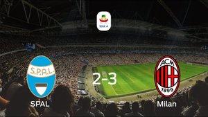 El Milan vence en el Stadio Paolo Mazza al SPAL (2-3)