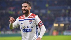Nabil Fekir es una de las referencias del Olympique Lyon
