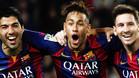 Neymar se despidió con cariño de sus compañeros de tridente