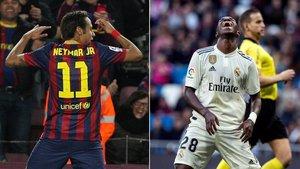 Neymar y Vinicius lo celebraron de la misma forma