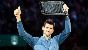 Novak Djokovic cayó ante Khachanov, pero recupera el número uno del ránking