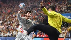 El nuevo fichaje azulgrana Ludovic Fabregas firmó seis goles en la final