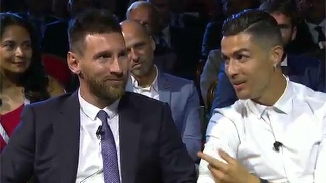 Nunca habías visto así a Cristiano: ¡le pide a Messi ir a cenar juntos!
