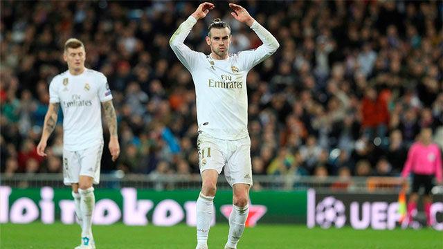 El palo privó a Bale de callar al Bernabéu