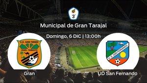Previa del partido: el Gran Tarajal recibe al San Fernando