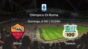 Previa del partido: la AS Roma recibe al Sassuolo