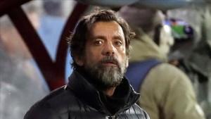 Quique Sánchez se quedó helado con la actuación del Espanyol en Ipurua
